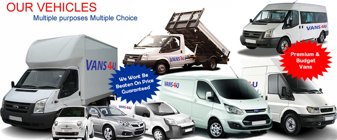 Vans 4 UK Van Hire